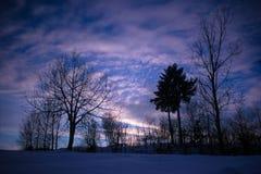 fractal abstrakcyjna obraz nieba zima Obraz Stock