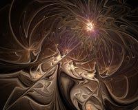 fractal abstrakcyjne projektu Obrazy Royalty Free