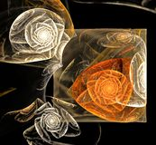 fractal abstrakcyjne projektu Obrazy Stock