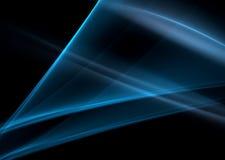 Fractal abstrato azul Fotos de Stock
