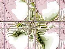 Fractal abstrato desorganizado ilustração royalty free