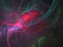 Fractal abstrato Textura abstrata da cor da pintura Imagens de Stock Royalty Free