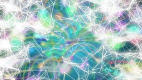 Fractal alien fiber abstract Stock Image
