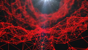 Fractal alien fiber abstract Royalty Free Stock Photo