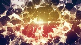 Fractal alien fiber abstract. 3840x2160 Stock Photography