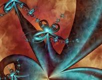 Fractal artístico III Imagen de archivo libre de regalías