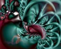 Fractal artístico IX Fotos de archivo