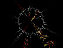 Fractal art background for creative design. Abstract fractal. Decoration for wallpaper desktop, poster, cover booklet, card. Stock Photo