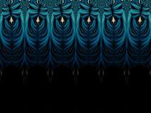 Fractal artwork for creative design. Royalty Free Stock Photo