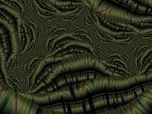 Fractal artwork for creative design. Abstract wavy background Royalty Free Stock Photo
