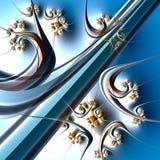 Fractal artworks stock illustration