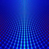 Fractal azul de la red Fotografía de archivo libre de regalías
