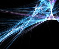 Fractal Background. Abstract fractal background Royalty Free Stock Photos