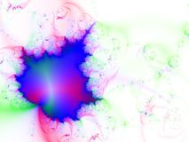 Fractal background. In vibrant colors Stock Images