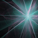 Fractal Background. Beautiful glowing fractal design background. Aurora burst Vector Illustration