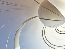 Fractal background, abstract illustration3D rendering. Fantastic city, 3D rendering, fractal abstract design Royalty Free Illustration