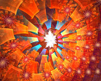 Fractal background Royalty Free Stock Photos
