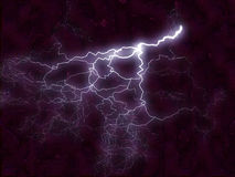 Fractal background - lightening bolt Stock Photo