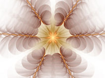 Fractal background - vibrant fantasy Royalty Free Stock Image