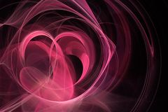 fractal backgrounds stock image