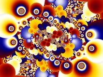 Fractal beeld stock afbeelding