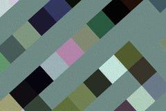 Fractal beeld met een geometrisch patroon Stock Afbeeldingen