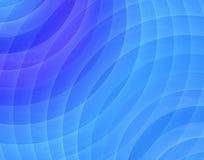 Fractal blauw geluid Vector Illustratie