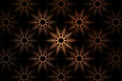 Fractal Bloemenfantasie Royalty-vrije Stock Afbeelding