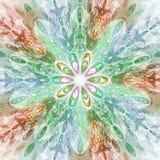 Fractal Bloemenfantasie Stock Afbeeldingen