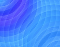 Fractal blue sound Stock Photography