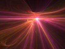 Fractal brightness Royalty Free Stock Image