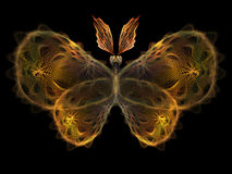 Fractal Butterfly stock illustration