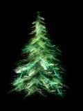 Fractal Christmas tree Stock Photos