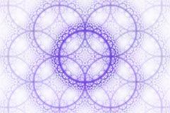 Fractal cirkelfantasie Royalty-vrije Stock Afbeelding