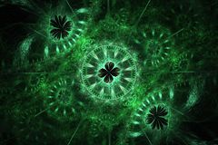 Fractal clockwork Stock Photography