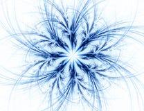 Fractal com estrela; projeto abstrato, fundo Fotografia de Stock