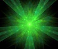 Fractal con la estrella; diseño abstracto, fondo Foto de archivo libre de regalías