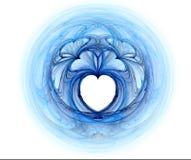 Fractal con los corazones Fotografía de archivo libre de regalías