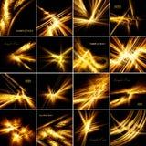 Fractal constellatie Royalty-vrije Stock Foto's