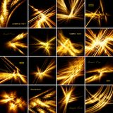 Fractal constellation Royalty Free Stock Photos