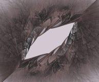Fractal czarnej dziury pęknięcia galaxy Zdjęcie Royalty Free