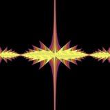fractal czerwono juila zestaw żółty pomocniczym Obraz Royalty Free