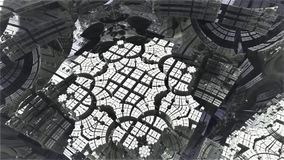 Fractal 3d Dise?o generado por ordenador abstracto del fractal stock de ilustración