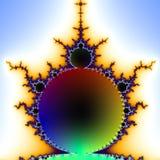 Fractal 2D texture. Computer illustration Royalty Free Stock Photos