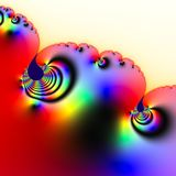 Fractal 2D texture. Computer illustration Stock Images