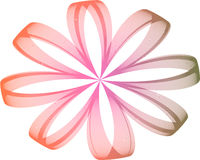 Fractal Daisy II. Colorful Fractal Daisy with white background generated in PS vector illustration