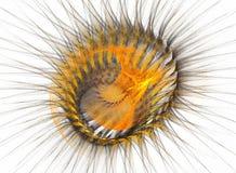 Fractal de la estrella Foto de archivo libre de regalías