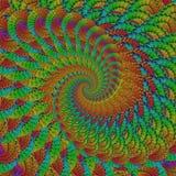 Fractal de la flor imagenes de archivo