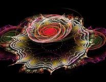 Fractal de la flor del Peony Fotos de archivo libres de regalías