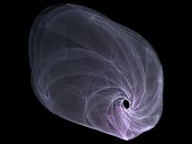 Fractal de la galaxia Imagenes de archivo